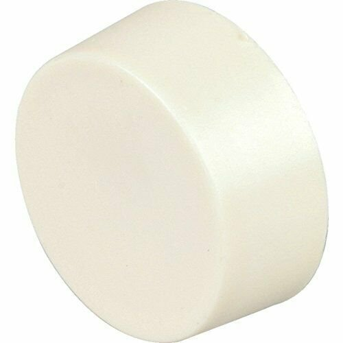 Ivory Line Volt Thermostat Knob - Use with Our White Single or Double Pole Cover