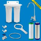 H2O RUS-200 Twin Housing Under Sink Filter