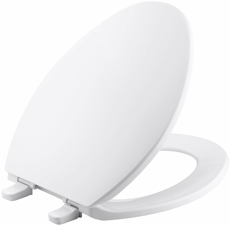 Kohler Brevia Plastic Elongated Toilet Seat K-4774-0 White