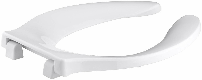 Kohler Stronghold Plastic Elongated Toilet Seat K-4731-GC-0 White