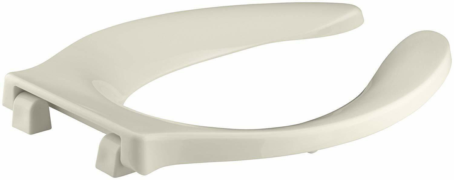 Kohler Stronghold Plastic Elongated Toilet Seat K-4731-SC-47 Almond