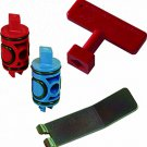 Viega PureFlow Zero Lead Manabloc Valve Stem Replacement Kit Red and Blue