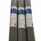 "3 PK 20"" x 2-7/8"" 0.5 Micron Carbon Block Filter Cartridge By Pentek FloPlus-20"