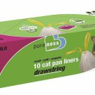 Van Ness Small Drawstring Liners, 10 Count