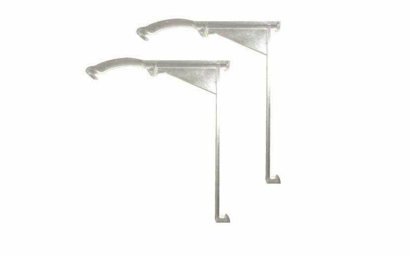 DESIGNER'S TOUCH 299084 Vertical Blind Valance Clip for Aluminum Headrail, PVC