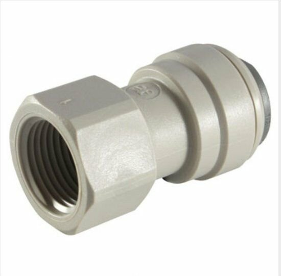 "1/4"" JG � 7/16"" Faucet Connector Plumbing Fitting By John Guest CI3208U7S"