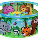 Sunny Days Entertainment Zoo Adventure Ball Pit Indoor Pop Up Play Tent Toy for Kids and Toddlers