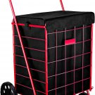 "Shopping Cart Liner - 18"" X 15"" X 24"" - Square Bottom Fits Snugly Into a Black"