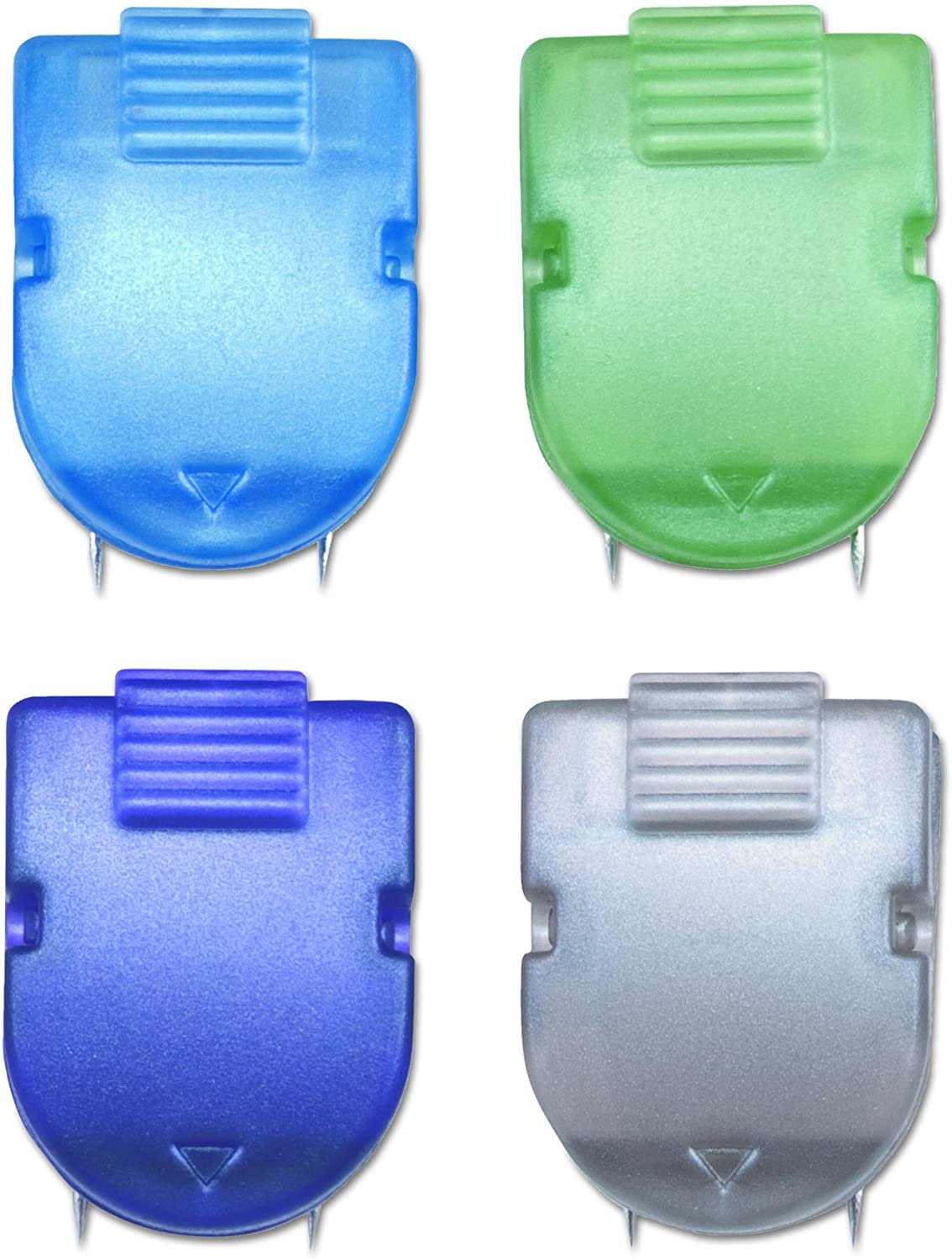 ADVANTUS Panel Wall Clip for Fabric Panels, Standard 20-Pack Metallic Colors