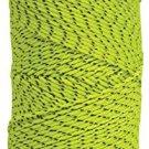 Kraft Tool BC354 Bonded Braided Nylon Line (Green & Black) - 500' Tube