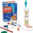 hand2mind Moving Creations with K'NEX, Book and Building Kit for Kids Ages 8