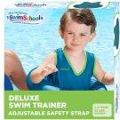 SwimSchool Deluxe TOT Swimmer for Kids, 4-in-1 TOT Swim Trainer, Blue/Berry