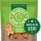 Buddy Biscuits Grain Free Dog Treats, Made in the 5 oz Softies Roasted Chicken