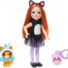 Barbie Club Chelsea Dress-Up Doll in Cat Costume with Accessories, 6-Inch