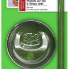 Ball Sip & Straw Lids, Fits Regular Mouth Mason Jars (2 Lids and 2 Straws) 1