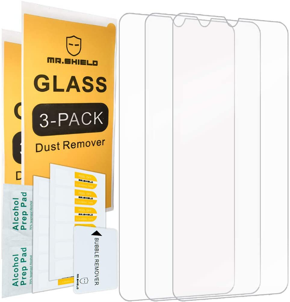 [3-Pack]-Mr.Shield for Samsung Galaxy A20 [Tempered Glass] Screen Protector