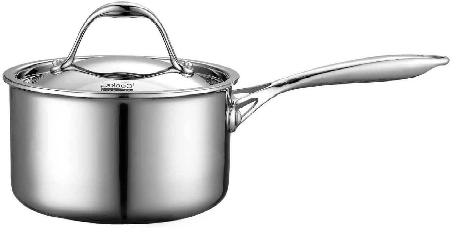 Cooks Standard NC-00217 Lid 1.5-Quart Multi-Ply Clad Stainless 1-1/2-Quart