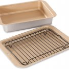 Nordic Ware Compact Ovenware 3-Piece Baking Set Compact 3-Piece Grill & Bake