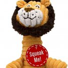 Charming Pet Squeakin' Squiggles Squeaky Plush Dog Toy