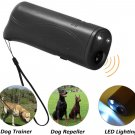 POVAD LED Ultrasonic Dog Repeller, 3 in 1 Ultrasonic Pet Repeller Anti Bark