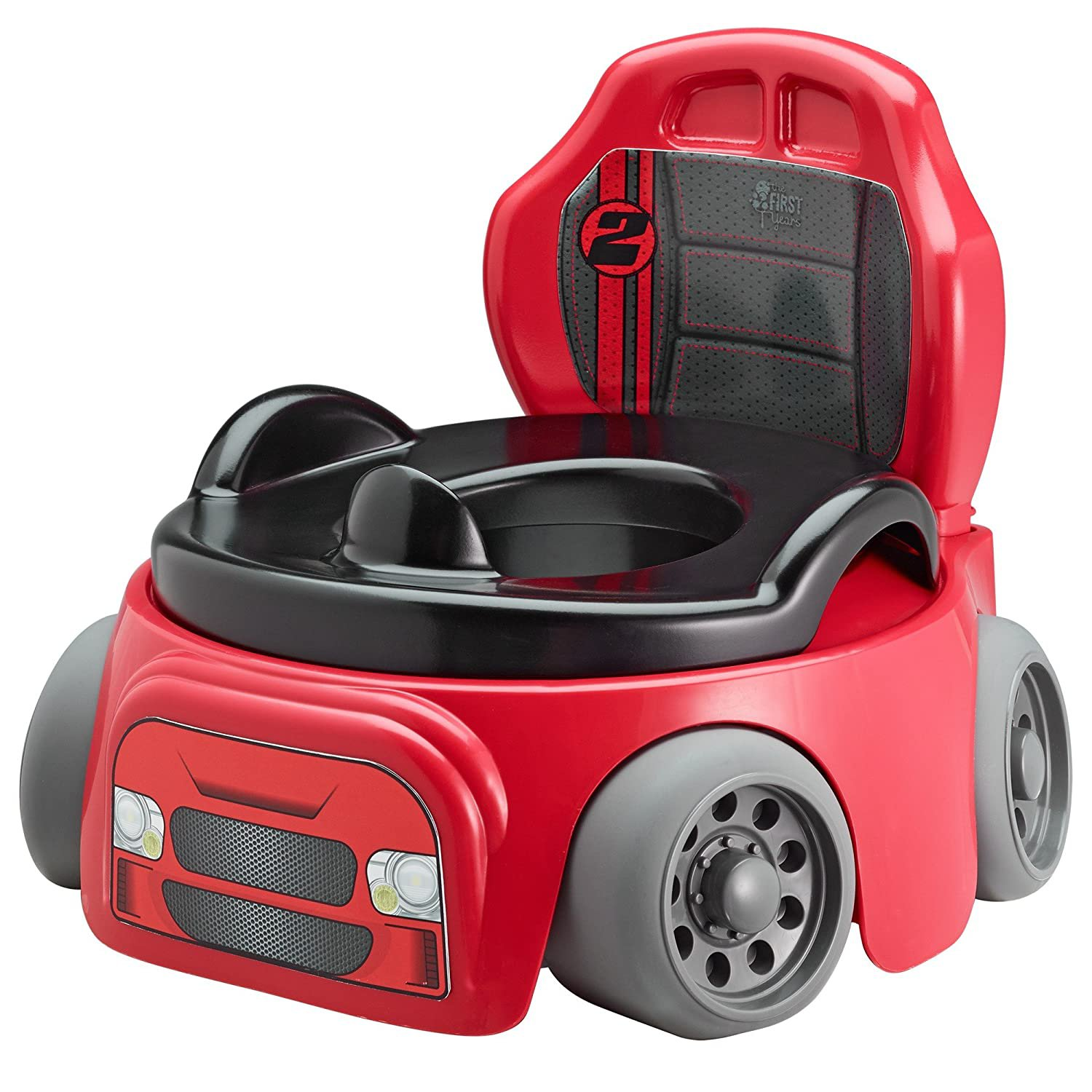 The First Years Training Wheels Racer Potty System | Easy to Clean and Easy to