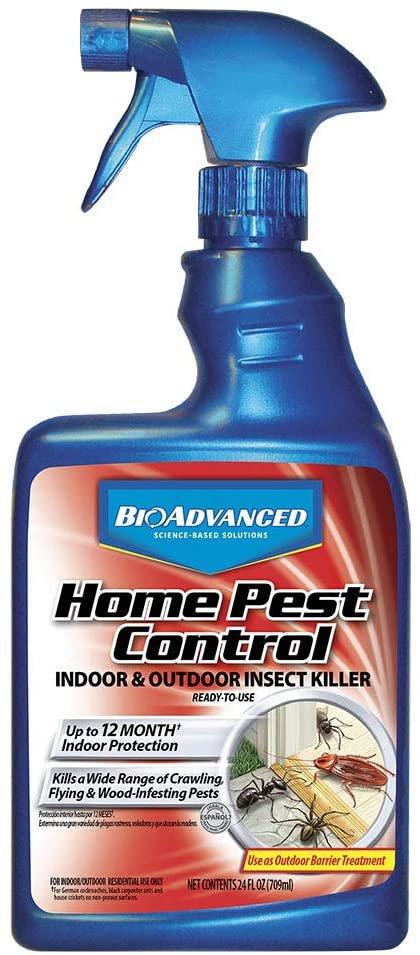 BIO Advanced 502790 Home Pest Control Indoor and 24-Ounce Regular Formula