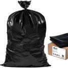Plasticplace Contractor Trash Bags 55-60 Gallon │ 6.0 Mil │ Black 25 Count