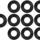 Sunlite 41326-SU 10-Pack PVC Electrical Tape 61 Feet x 0.75 Black New Model