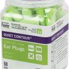 Flents Ear Plugs, 50 Pair, Ear Plugs for Sleeping, Snoring, Loud Noise, 50 Pair