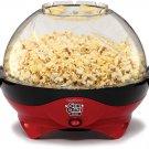 West Bend 8231 Stir Crazy Deluxe Electric Hot Oil Popcorn Popper Machine, Red