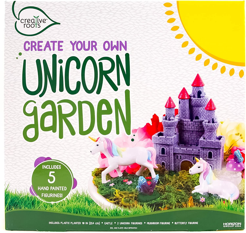 CREATIVE ROOTS Create Your Own Unicorn Garden by Horizon Group USA, Unicorn