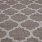 Unique Loom Trellis Collection Moroccan Lattice Beige/Tan Square Rug (10' 0 x