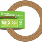Southwire 64169622 5 Conductor 18/5 Thermostat Wire, 18-Gauge Solid Copper