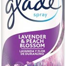 Glade Air Freshener, Room Spray, Lavender & Peach Lavender & Peach Blossom