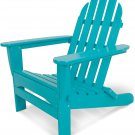 "POLYWOOD AD5030AR Classic Folding Adirondack Chair, Height: 35.00"" - Aruba"