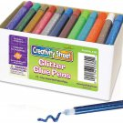 Creativity Street Glitter Glue Pens, 10 CC Tube, Assorted Colors, Set of 72
