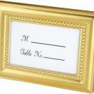 Beautifully Beaded Gold Photo Frame/Place Holder 1