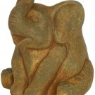 Classic Home and Garden 260004P-433 Elephant Planter, Small Rust Elephant
