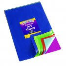Colorations Bleeding Art Tissue, 50 Sheets, 12 inches x 18 inches, 20 Assorted