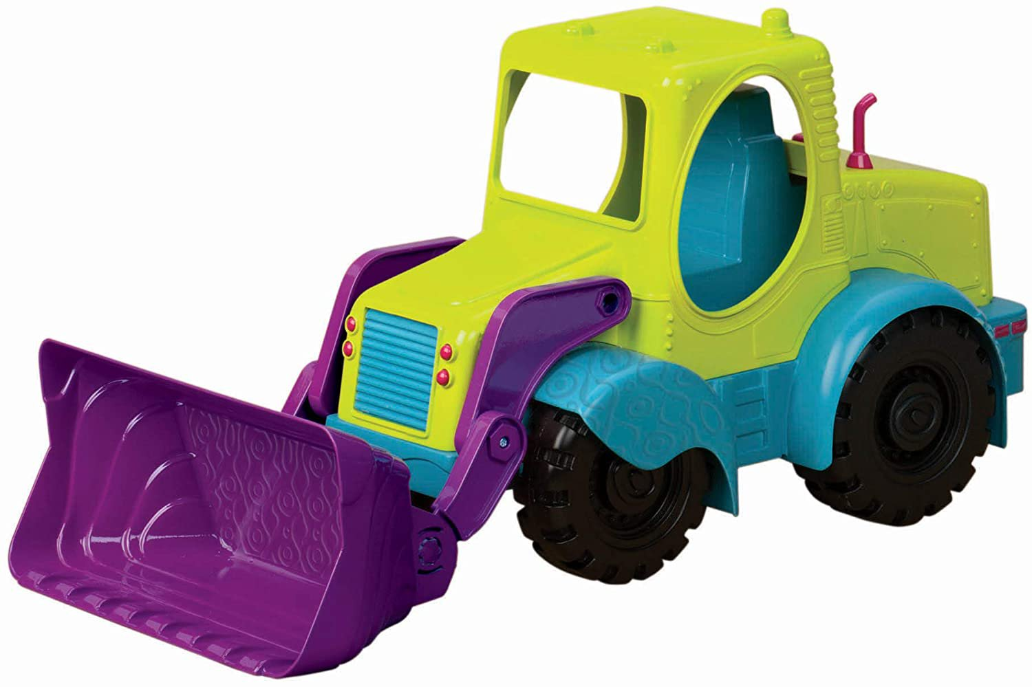 B. toys by Battat Loadie Loader 18� Sand Truck � Excavator Toy Truck for
