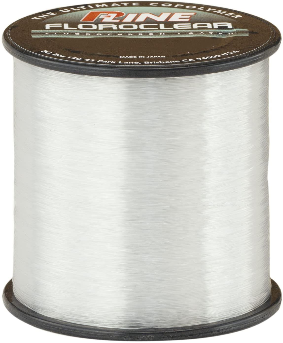 P-Line Floroclear Clear Fishing Line 400-600 YD Spool 4-Pound