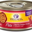 Wellness Complete Health Natural Grain Free Wet Canned Cat 3 oz (Pack of 24)