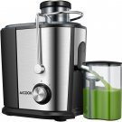 Juicer Wide Mouth Juice Extractor, Aicook Juicer Machines BPA Free Compact
