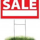 Headline Sign 4730 Yard Sign, Garage Sale, 18 Inches by 24 Inches Garage Sale
