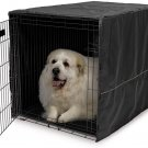 MidWest Dog Crate Cover, Privacy Dog Crate Cover Fits MidWest Dog 48-Inch Black