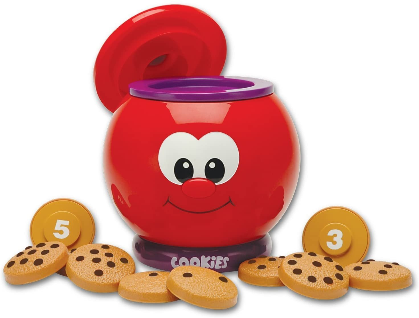 The Learning Journey Learn With Me � Count & Learn Cookie Jar � Counting and