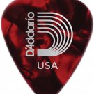 Planet Waves Red Pearl Celluloid Guitar Picks, 10 pack, Heavy 10-pack Red Heavy
