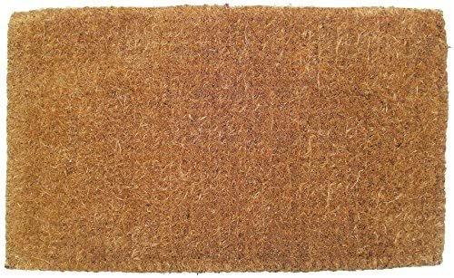 "Entryways Blank Extra Thick Handmade, All-Natural Coconut Fiber 18""X30"" BLANK"