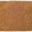 "Entryways Blank Extra Thick Handmade, All-Natural Coconut Fiber 18""X30"" BLANK"
