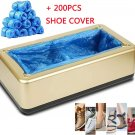 Shoe Covers Machine, Automatic Shoe Cover Dispenser with 200pcs Disposable